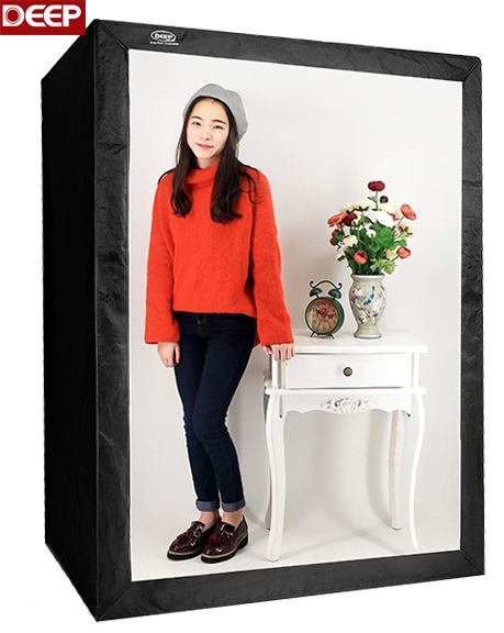 160CM Photo Tent Tabletop shooting LED softbox Tent LED Studio Box Portable Photo Studio Vedio Lighting Tent Continuous Lighting