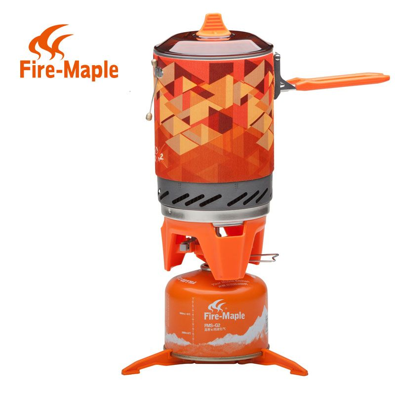 Fire Maple X2 Portable Gas Stove Burner 1L 600g FMS-X2 Hand-held Personal Cooking System Outdoor Hiking Camping Equipment Oven