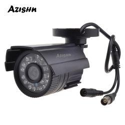 AZISHN CCTV Камера 800TVL/1000TVL фильтр, отсекающий ИК-область спектра, фильтр 24 часа день/Ночное видение видео открытый Водонепроницаемый IR Bullet ...