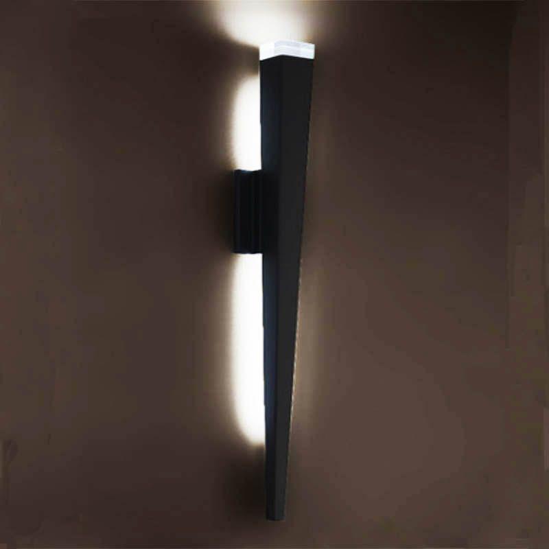 Wand Licht Trangle Rohr Taschenlampe Design lichter FÜHRTE Leuchte Licht Flur Kaffee Shop Innen Up Licht 5 W Dimmbare BENUTZERDEFINIERTE STIL