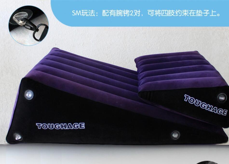 Dur adulte sexe meubles canapé ensemble G Spot jouets sexuels pour Couples femmes gonflable sexe oreiller coin amour sexe coussin BDSM sexe