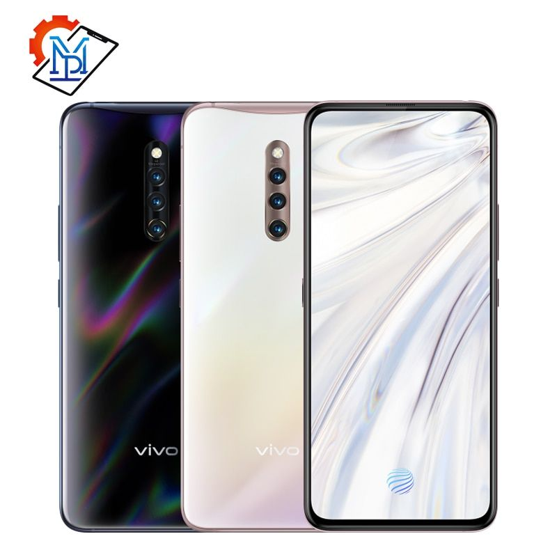 Original Vivo X27 Pro Bildschirm Fingerprint Handy 6,7 zoll 8 GB + 256 GB Snapdragon 710 Octa Core Android 9.0 48.0MP Smartphone