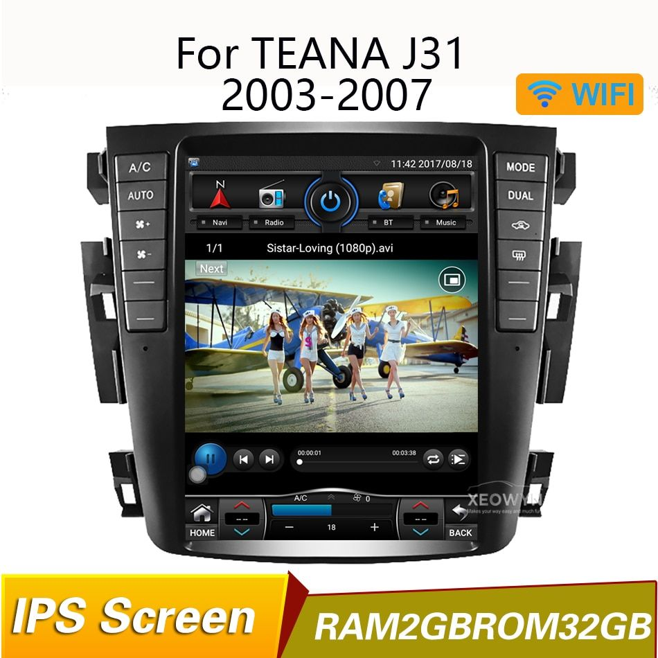 RAM2GB Quad core 9,7 Auto radio GPS Navigation für Nissan teana J31 2003-2007 230JK 230jm Für Nissan maxima 2003-2007