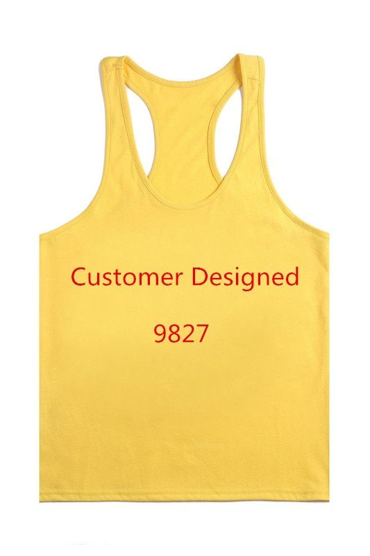 Musculation Vest Bodybuilding Clothing And Fitness Men Undershirt Solid Tank Tops Blank Men Gym Tank Shirt