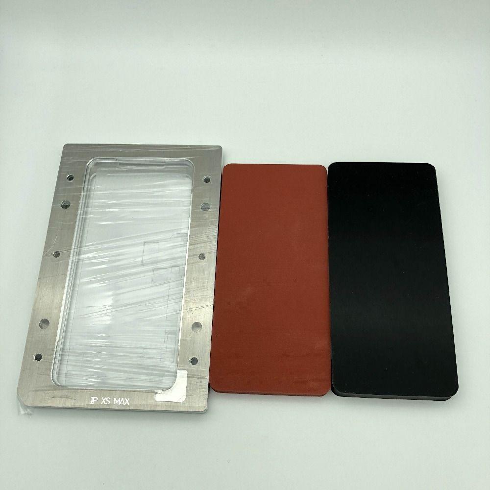 YMJ Neue laminieren form Für iphone XS MAX LCD touch screen display OCA polarisator film glas positionierung laminieren reparatur