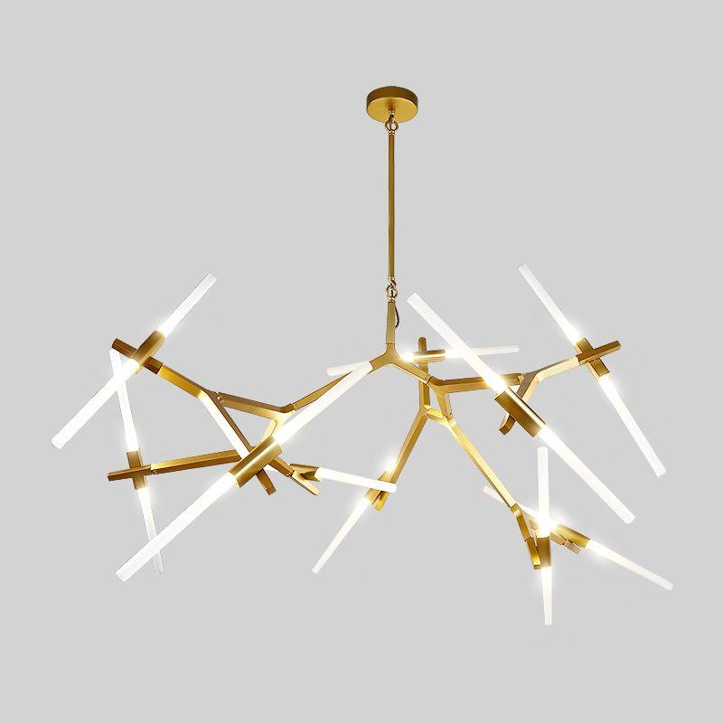 Branche créative Arts Rouleau Colline Agnes Pendentif Lumière lampe Moderne Italien Conception Personnalité Salon Restaurant Lampes appareils