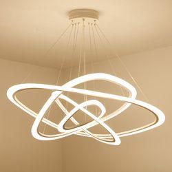 LED lustre loft éclairage nordique suspension luminaire accueil déco éclairage salon lampes moderne suspendus lumières