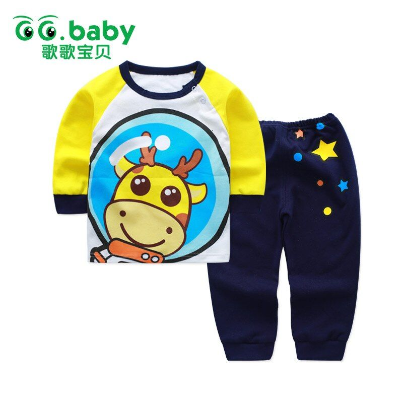 Bébé garçon ensemble nouveau-né garçon vêtements dessin animé ours premier anniversaire bébé tenue garçon vêtements ensembles infantile vêtements fille vêtements de nuit pyjamas