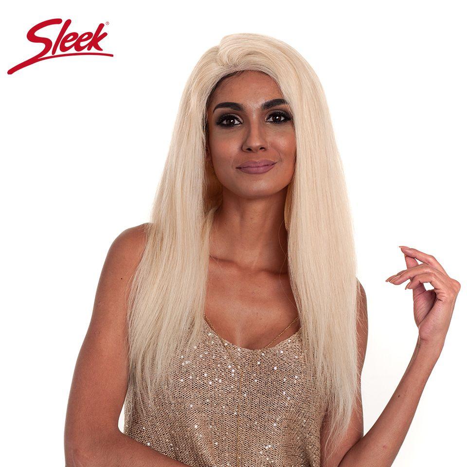 Sleek Brazilian Silky Straight Hair 613 Blonde Full Lace Wigs 150% Density Remy Human Hair Wigs For Black Women