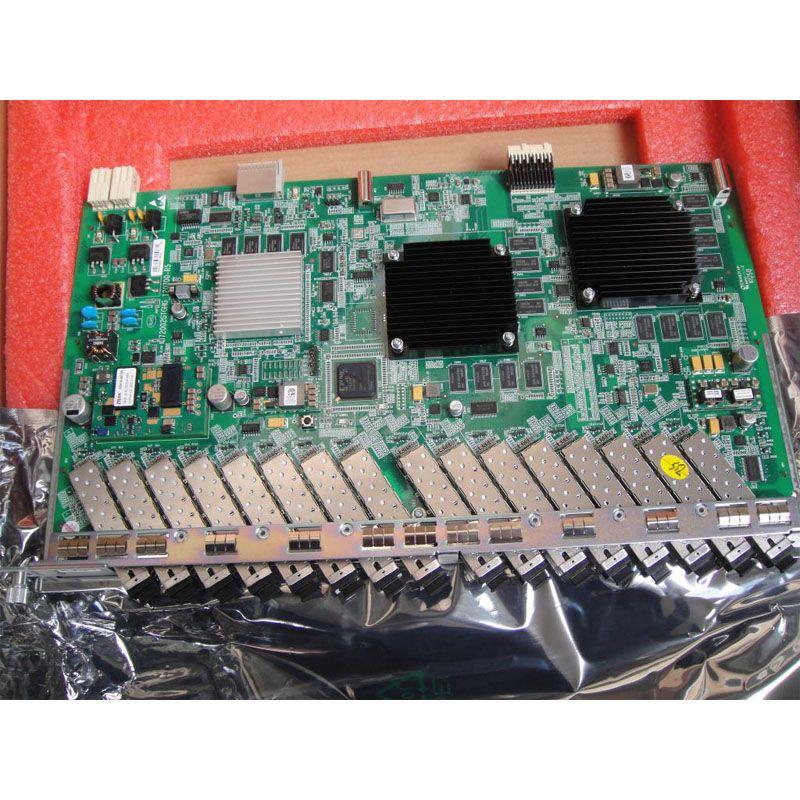 Ursprüngliche ZTE GTGO 16 Gpon ports SFP business bord C + SFP PON Modul, 16 port GPON GTGO, ZTE C320 C300 OTL