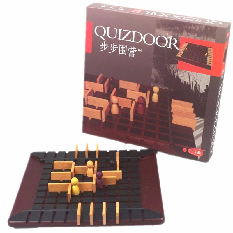 Board Game Quoridor toy Best Gift For Children Family Party Game The most popular wood chess educational game interactive toy