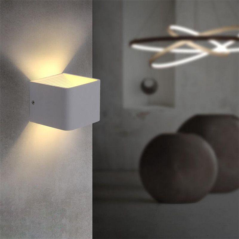 110v 220v 3w Aluminum Led Wall Light Applique Murale Luminaire Lamparas Lampe Lampen Luminaria De Parede Lamps Quarto Lustre 02