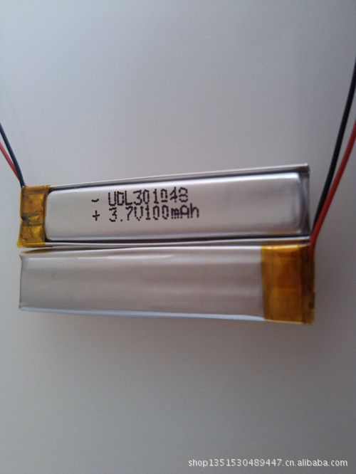 5Pcs Supply the whole market special headset battery / lithium battery / lithium polymer battery 301048-100MAH