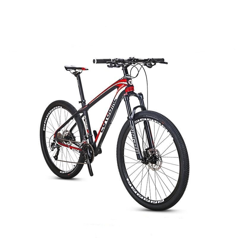 EUROBIKE 27.5*16.5inch Carbon Fibre City Mountain Bike 27 speed 27.5 inch Wheel Hydraulic Brake Complete MTB Bicycle