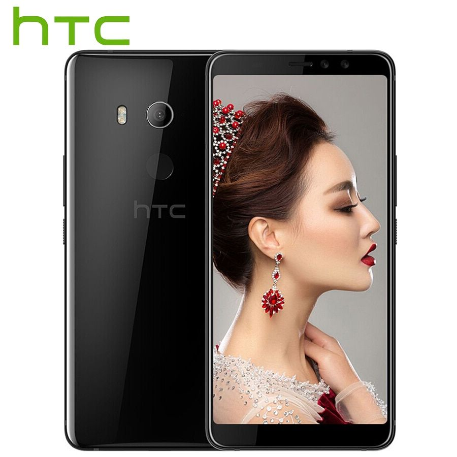 Global Version HTC U11 EYEs 4G LTE Mobile Phone 6.0 Inch 4GB RAM 64GB ROM Android 8.0 Snapdragon 652 Octa Core IP67 Smart Phone