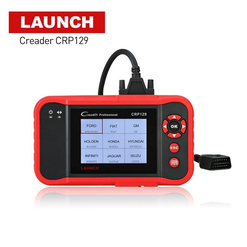 2018 New Original Launch X431 Creader CRP129 Code Reader Scan Tool ENG/AT/ABS/SRS EPB SAS Oil Service Light resets Code Scanner