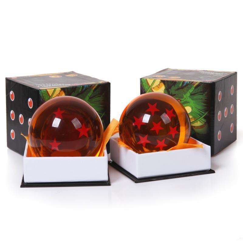 Color boxed 1Pcs 7cm Dragon <font><b>Ball</b></font> Star Crystal <font><b>Ball</b></font> PVC Figure Dragonball Z action figure Toy 1~7 Star Selectable Free Shipping