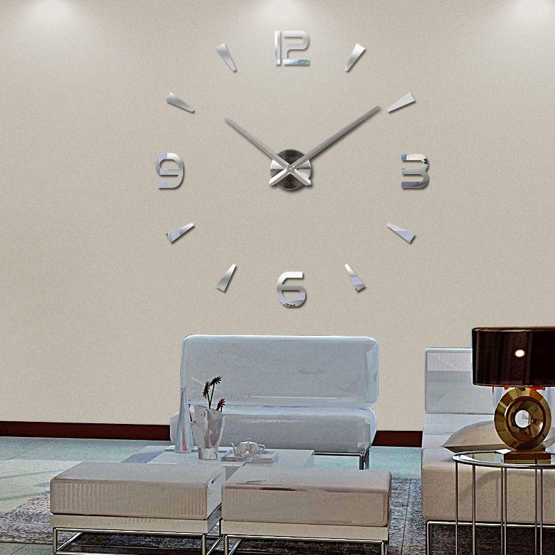 Новинка 2016 настенные часы кварцевые часы Reloj де сравнению современный дизайн большие декоративные часы Европа акриловые наклейки гостиная ...