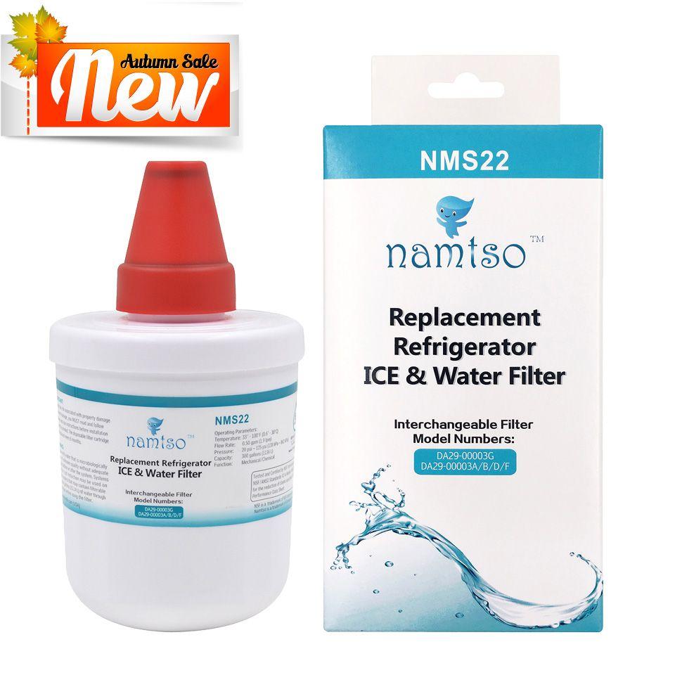 Purificateur d'eau Namtso NMS22 Réfrigérateur Filtre À Eau Smartwater Cartouche de Remplacement pour Samsung Filtre DA29-00003G 1 Pièce