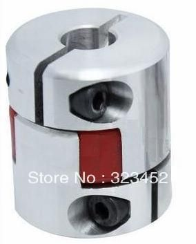 4pcs/lot CNC Coupling Flexible 8x10mm D25L30 Jaw Spider Plum Coupling Shaft Coupler