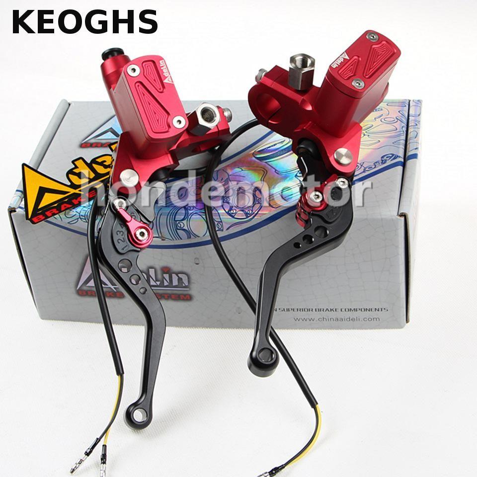Keoghs universal motorrad cnc adelin px6 motorrad bremse kupplung pumpe hauptbremszylinder hebel griff für yamaha kawasaki suzuki