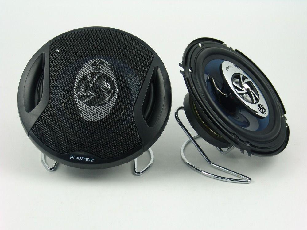 5 inch Three Way Coaxial Full Range Speaker, Car Speaker, Slim Type, 4 ohm, 300W, diameter:130mm, 2pcs a lot