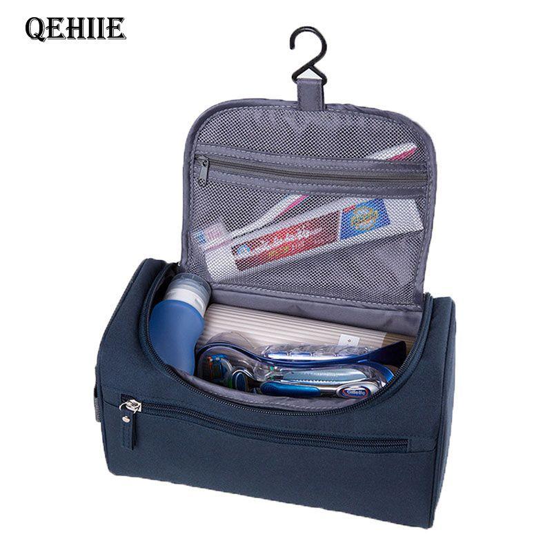 QEHIIE brand makeup bag travel organizer hanging nylon makeup bag men's large beautician necessities wash bag free delivery