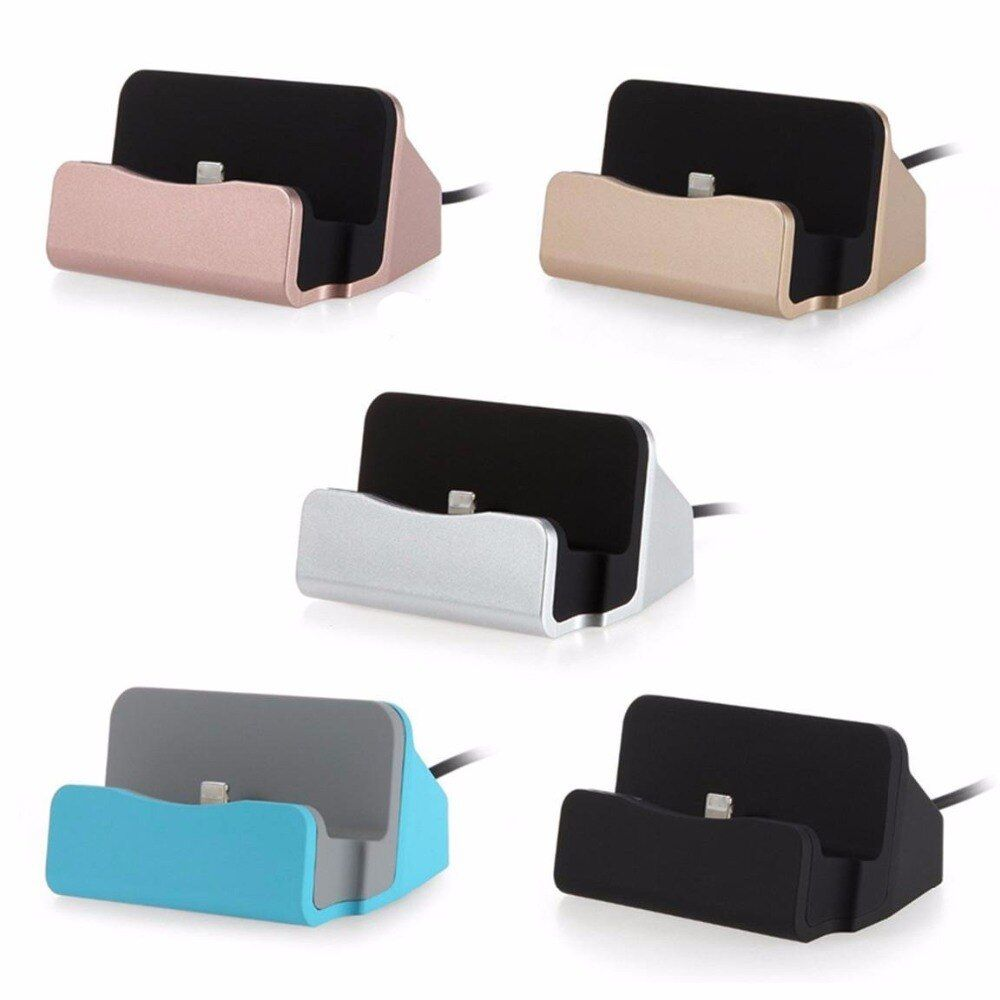New Original Sync Data USB Charger Dock Stand Station Cradle Charging Dock Station For Apple iPhone SE 5 5S 5C 6 6S Plus 7 7 Pro