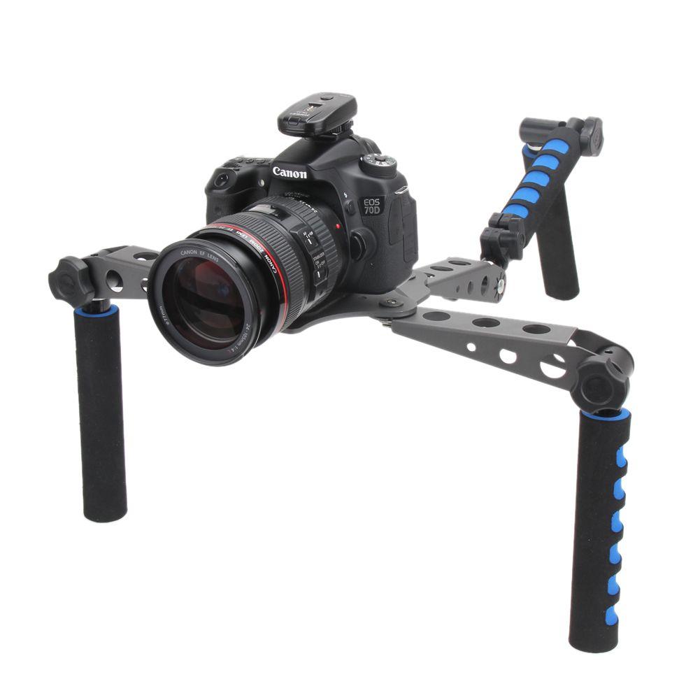 DSLR кинематографа Системы плечевая стабилизации стабилизатор для Canon 5D Nikon 4D Sony Panasonic Зеркальные фотокамеры и Видеокамеры