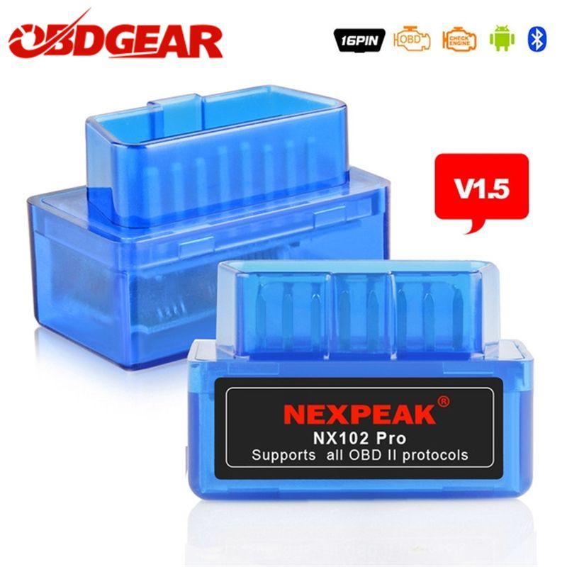 EML327 OBD2 V1.5 Scanner automobile orme 327 V1.5 OBD 2 ODB2 Autoscanner orme-327 V 1.5 OBD2 adaptateur Bluetooth russe