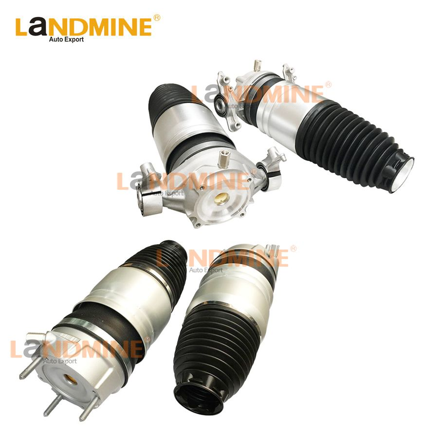 Free Shipping 4PCS 2011-2016 Front Air Strut Rear Air Spring Fit Audi Q7 VW Touareg Cayenne 7P6601020K(019K) 7P6616039N(040N)