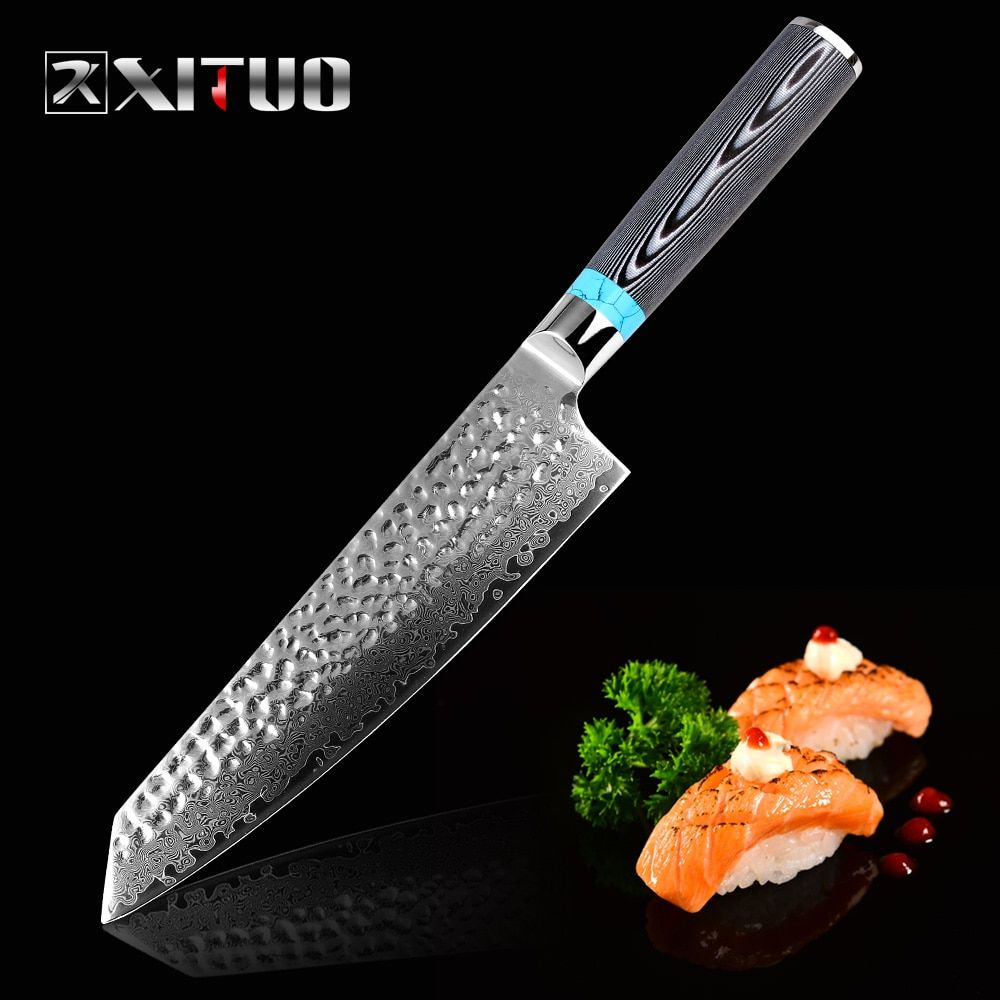 XITUO Highquality Damascus Knife 8