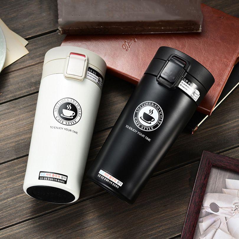 UPORS Premium Café Voyage Tasse En Acier Inoxydable Thermos Tumbler Tasses Fiole À Vide thermo Bouteille D'eau Thé Tasse Thermocup