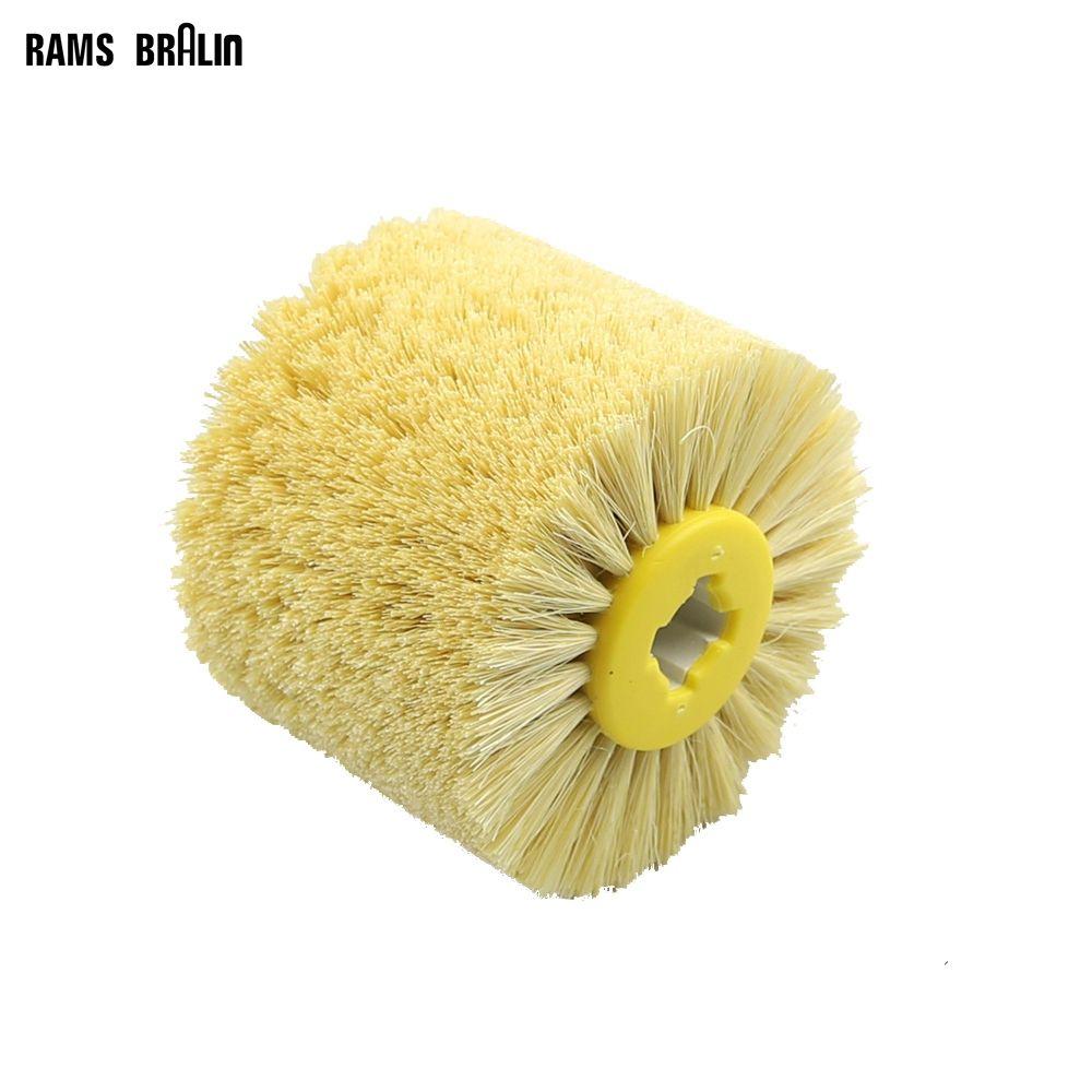 1 pièces 120*100*19mm Sisal soies polissage cire roue brosse pour Annatto palissandre meubles Surface miroir finition