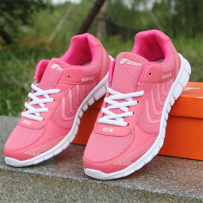 Hot 2017 Women Sneakers Breathable Sport Shoes Female Running Shoes Light Sneakers For Women Shoes 35-43 Shoes 35-43 Euro