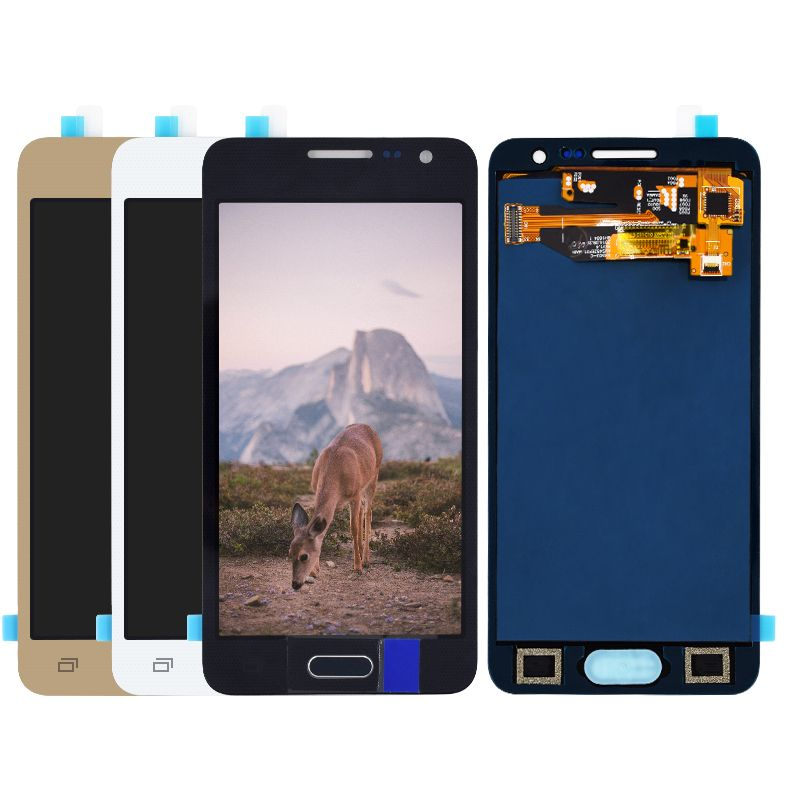 For Samsung Galaxy A3 2015 A300 A3000 A300F A300M LCD Display+Touch Screen Digitizer Assembly not adjust brightness