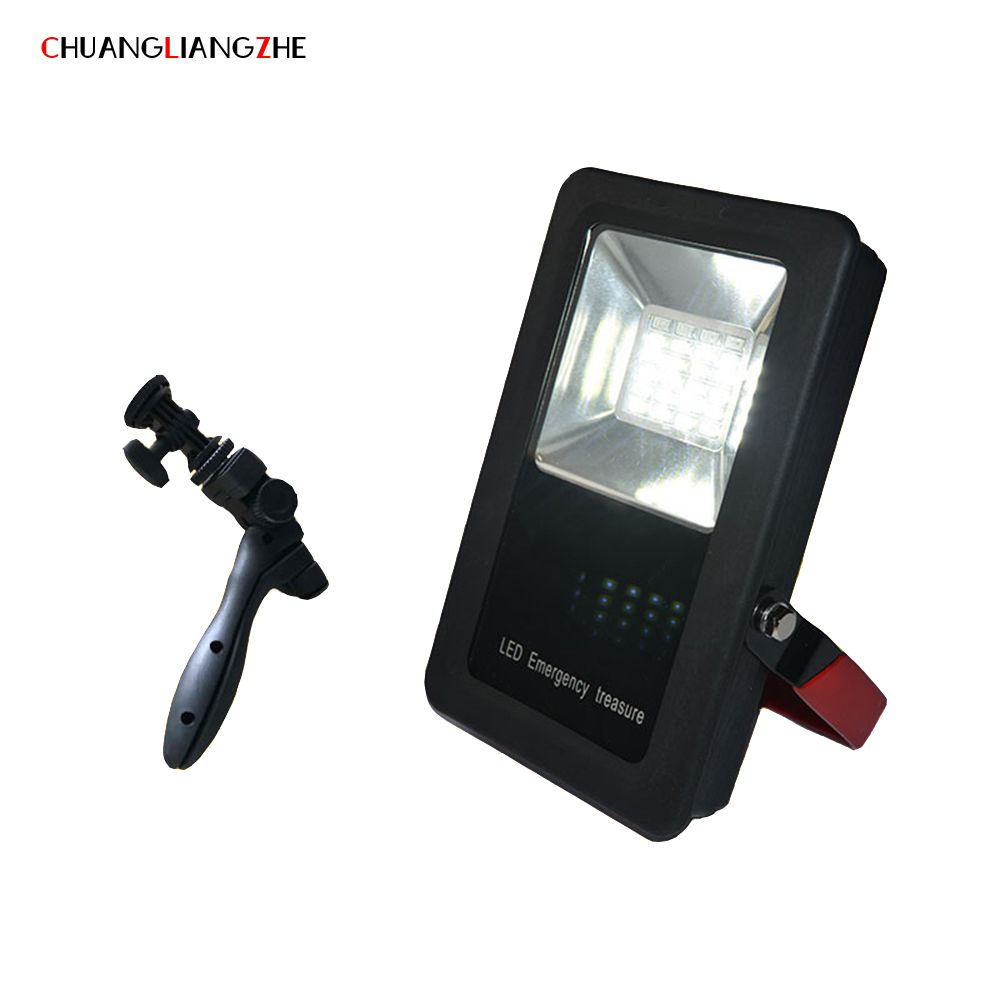 CHENGLIANGZHE LED Floodlight Work Maintenance Lights Portable Lighting Searchlights Outdoor Waterproof hunting search lights