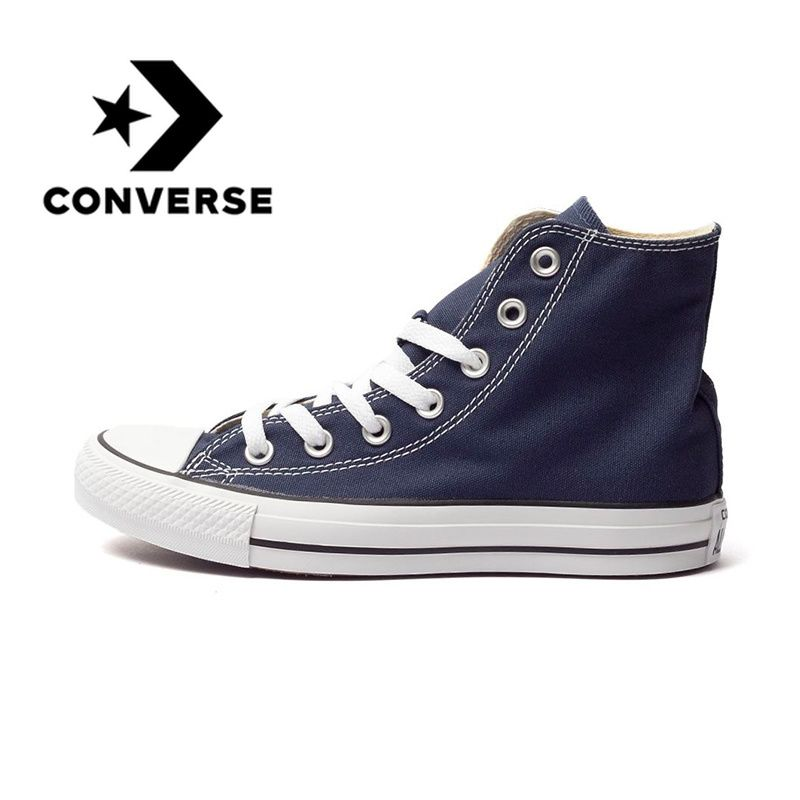 Original Converse Classic Unisex Canvas Skateboarding Shoes High Top Anti-Slippery Sneaksers Comfortable Lightweight 102307