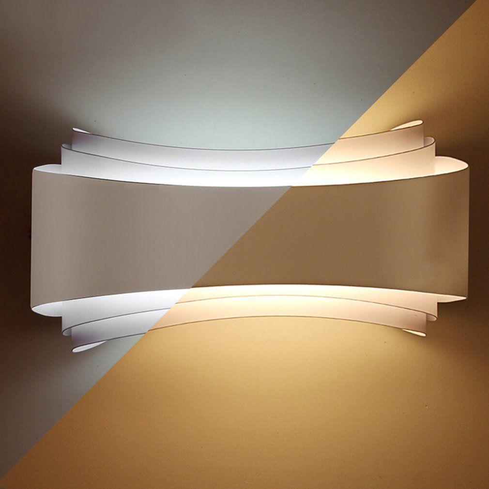 Modern Minimalism Led Wall Lights Hotel Living Room Aisle Bedside Wall Lamps Unique Design Long Lifespan Lighting Fixtures