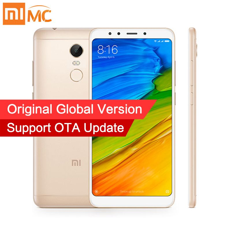 In Stock Global Version Xiaomi Redmi 5 Plus 4GB 64GB Smartphone 5.99