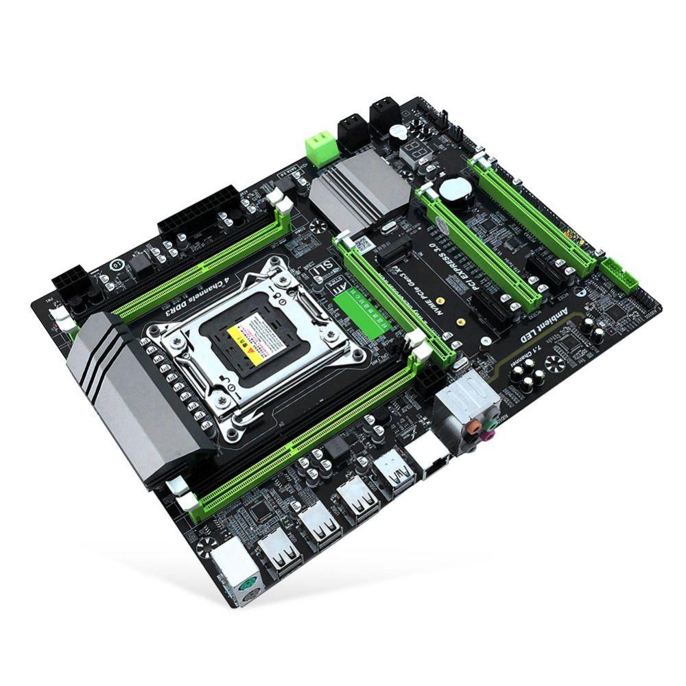 X79T DDR3 PC Desktops Motherboard LGA 2011 CPU Computer 4 Channel x79 Turbo Gaming Mainboard SATA 3