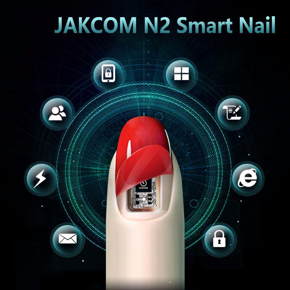 JAKCOM N2 Smart Nail nouveau produit multifonction d'accessoires intelligents sans frais requis nouveau Gadget portable Intelligent NFC