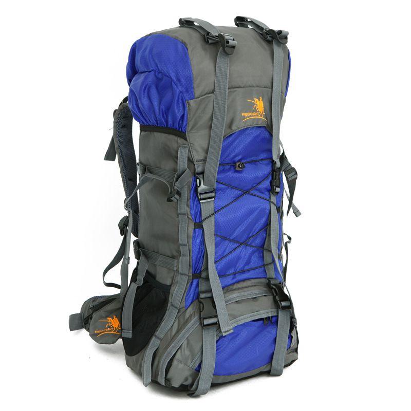 2017 Hot Sale 60L traveling backpack Bags Nylon Shoulder Bag Men and Waterproof Nylon College Tide Casual Men's Backpacks