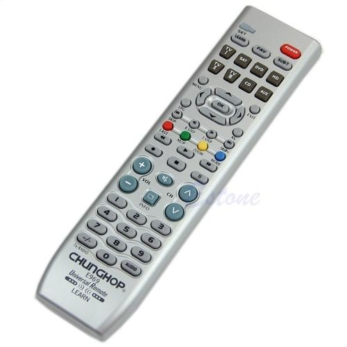 8in1 Smart Universal Remote Control Controller For TV VDO DVD CD AUD SAT