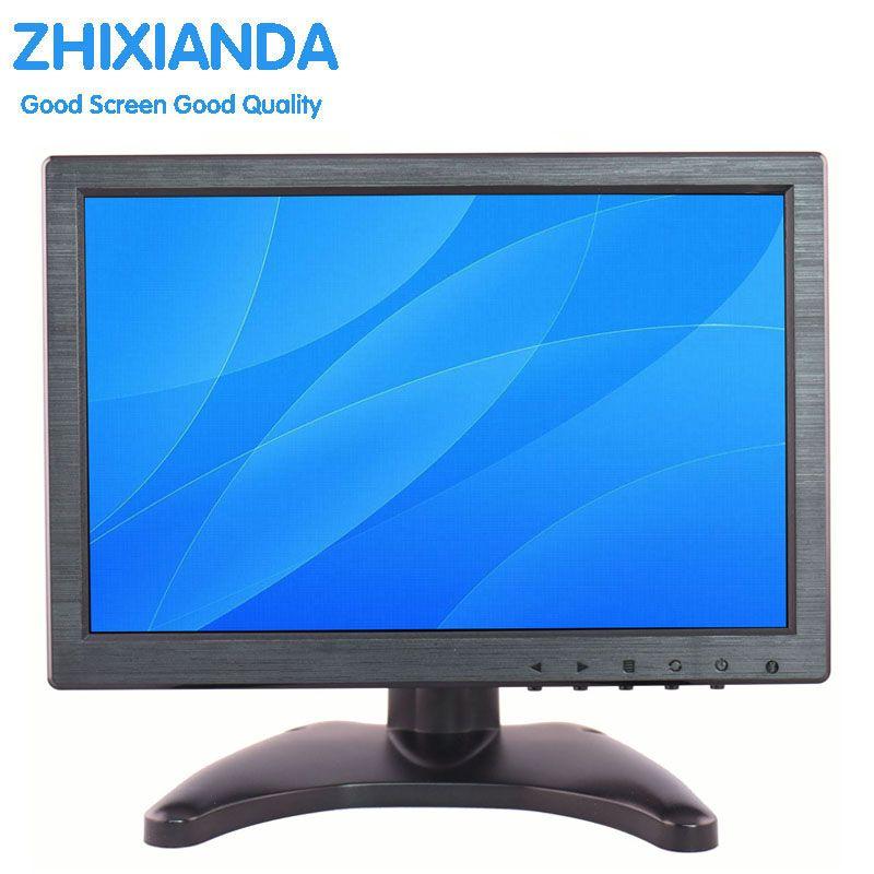 10 Inch IPS EDP 1280*800 Touch Screen Portable HD HDMI Monitor with VGA BNC AV USB Input for FPV Video Display TV CCTV