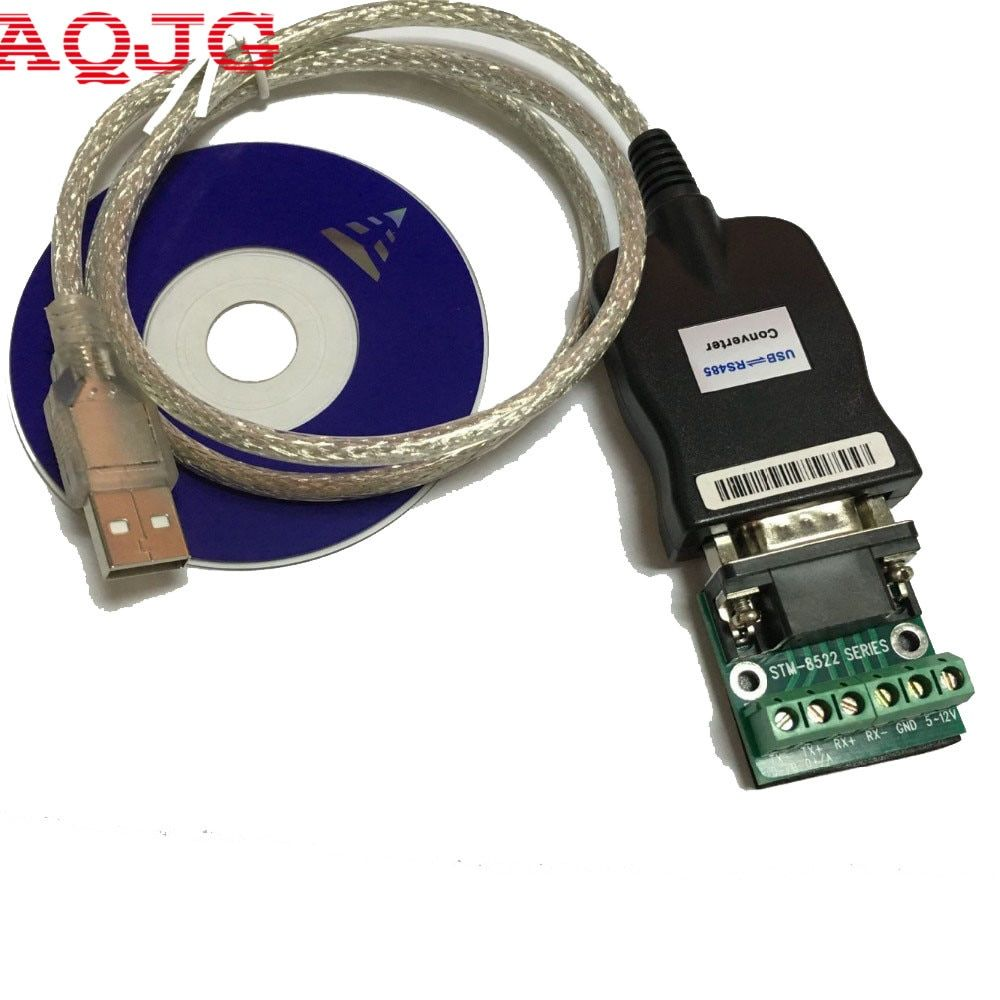 USB 2.0 USB 2.0 à RS485 RS-485 DB9 COM câble adaptateur de convertisseur de périphérique de Port série, prolifique PL2303 AQJG