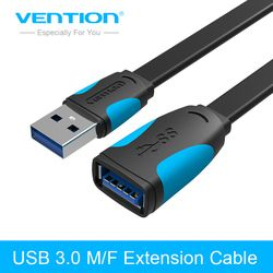 Vention USB to USB Extension Cable USB 3.0 Cable for Computer 1m 2m Cable Extender USB Data Transimission Cable for Camera