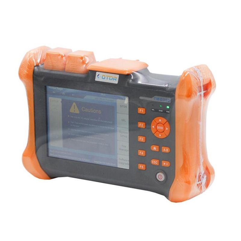 Handheld OTDR TMO-300-SM-C OTDR 1310/1550nm 30/32dB,Integrated VFL, Touch Screen Optical Time Domain Reflectometer VFL