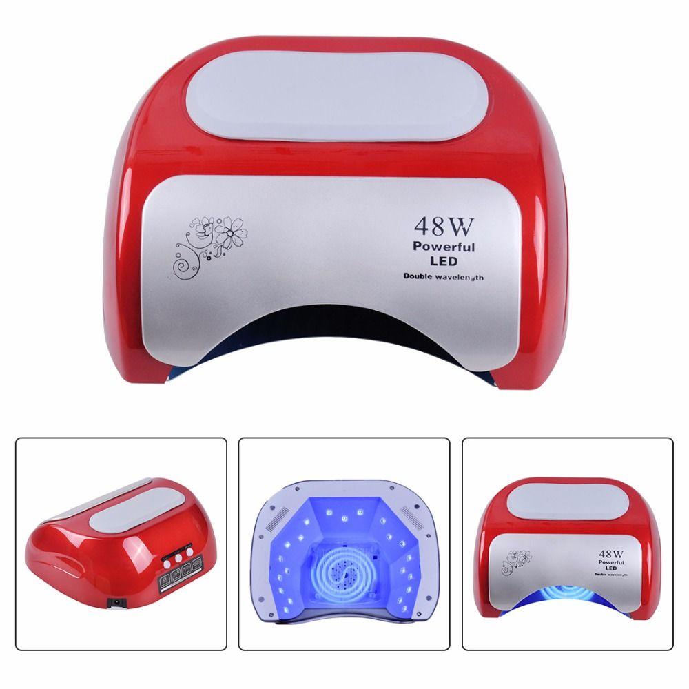Biutee 48W CCFL Nail Dryer Polish Machine UV Lamp LED Lamp Nail Lamp for Curing Nail Polish Gel Nail Art Automatic Hand Sensor