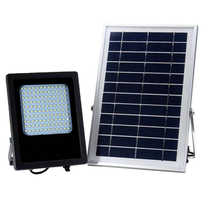 120LEDs Solar Power LED Light Sensor <font><b>Flood</b></font> Spot Garden Outdoor Home Security Lamp Wall Waterproof Panel Lamp Street LED Light